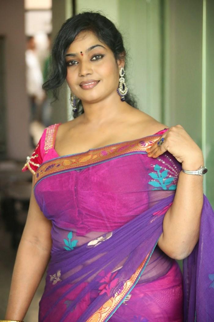 Jayavani Hot Saree Stills